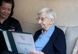 home carers with support plan